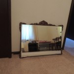 "Lot # 15: Vintage mirror and frame 26"" X 18"""